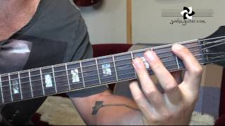How to play Black Hole Sun by Soundgarden (Guitar Lessons SB-320)