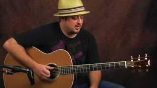 Acoustic Blues guitar lesson spice up that bluesy playing