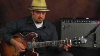 Learn how to play country bluegrass lead guitar lesson